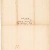 Letter from Philip Schuyler to Simeon De Witt
