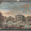 The bridge and market of the Rialto, Venice