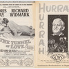 Program for the stage production The 49th Star at the Roxy Theatre, performed during screening of the motion picture The Last Hurrah