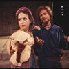 Margaret Whitton (as Bianca) and John Heard (as Cassio) in the stage production Othello