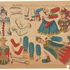 Pantins: Pierrot & Pierrette, Danseurs Chinois