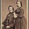 Portrait of Peter Richings with his daughter Caroline Richings