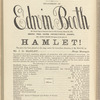 Hamlet: as performed by Edwin Booth