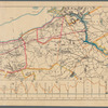 Map showing the route of the new aqueduct from Central Park to Croton Dam: together with proposed reservoirs, & c.