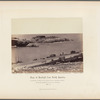 Panorama of the town, North Island, Chincha Islands. Showing Slaughter-House Point, with part of Small Pier. No. 1