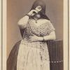 Studio portrait of an unidentified Peruvian woman