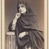 Studio portrait of an unidentified woman