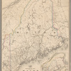Post route map of the state of Maine: and of the adjacent parts of New Hampshire and the Dominion of Canada