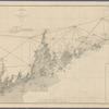 Sketch showing the progress of the survey in section no.1 from 1852 to 1877 (upper sheet)