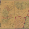 A topographical map of Lincoln Co. Maine