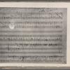 "Verdi, Giuseppe. [Otello (sketches)] Prima stesura del ""Salce"" nell'opera Otello, G. Verdi"