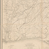 Extract from a map entitled Portions of the military departments of the Cumberland ... of the South ... and of the Gulf ...
