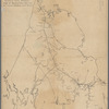 Extract from Borden's map of Massachusetts: with the several chartered rail roads