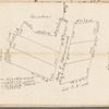 Survey of the two pieces of land at Little Bloomingdale