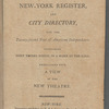 New York City directory, 1797