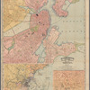 Rand, McNally & Co.'s indexed atlas of the world map of Boston