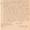 Correspondence with Benjamin Hinchman