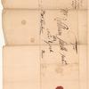 Correspondence with Reverend Silas Leonard