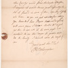 Letter from Peter V.B. Livingston