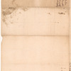 Letter to [Eleazer] Miller and Cornwell [Thomas Cornell]