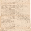 Abstract of [William Wyndham] Grenville's letter and [e]nclosure 20th October 1789