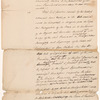 Letter from Lord Dorchester [Guy Carleton] to [William Wyndham] Grenville, enclosure D