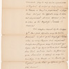 Letter from Lord Dorchester [Guy Carleton] to [William Wyndham] Grenville, enclosure E