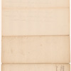 Letter from Lord Dorchester [Guy Carleton] to [William Wyndham] Grenville, enclosure G