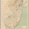 A map of New Jersey to accompany the Annual report of the state geologist for 1892: from original surveys by C.C. Vermeule, topographer ; based on triangulation of the U.S. Coast of Gedetic Survey