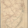 Map of the rail roads of New Jersey: and parts of adjoining states