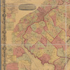 Topographical map of the state of New Jersey: together with the vicinities of New York and Philadelphia, : from the State Geological Survey and the U.S. Coast Survey, and from surveys