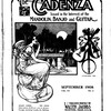 The Cadenza, Vol. 15, no. 3