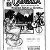 The Cadenza, Vol. 18, no. 8