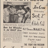 """Strike A Blow At Jim Crow"", NAACP flyer"