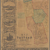 Map of Tolland County, Connecticut from actual surveys