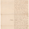 Analysis of Governor's commission of 12 September 1791