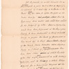 Hand bill in favor of elections by ballot published in December 1769