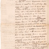 Paper for Parker to shew expense of the Mutiny Act