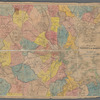 Map of the vicinity of Boston: Engraved for the Boston almanac 1849
