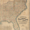 Lloyd's map of the Southern States, showing all the railroads, their stations & distances: also the counties, towns, villages, harbors, rivers, and forts