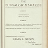 The Bungalow magazine, Vol. 1, no. 2