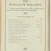 The Bungalow magazine, Vol. 1, no. 7