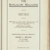 The Bungalow magazine, Vol. 1, no. 8