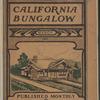 The Bungalow magazine, Vol. 1, no. 1