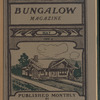 The Bungalow magazine, Vol. 1, no. 3