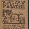 The Bungalow magazine, Vol. 1, no. 10