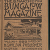 The Bungalow magazine, Vol. 2, no. 1