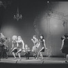 """Chorus performing """"Rich Man's Frug"""" in the stage production Sweet Charity"""