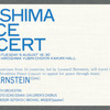 Ticket for Hiroshima concert, Journey of Peace tour