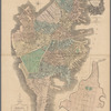 Map of Boston in the state of Massachusetts: 1814